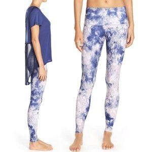 Karma. Kata Print High Waist Yoga Leggings Sz S